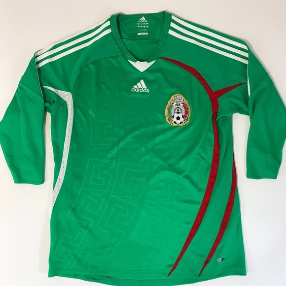 adidas Other - ADIDAS Mexico Soccer Jersey Mens Sz Large